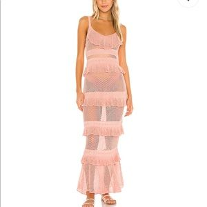 NWT crochet beach dress XS